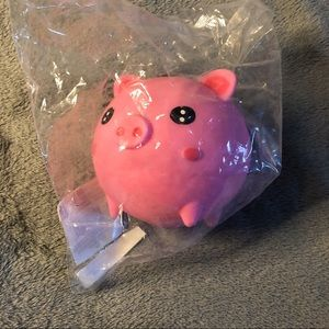 New Pink Pig Squishy Toy